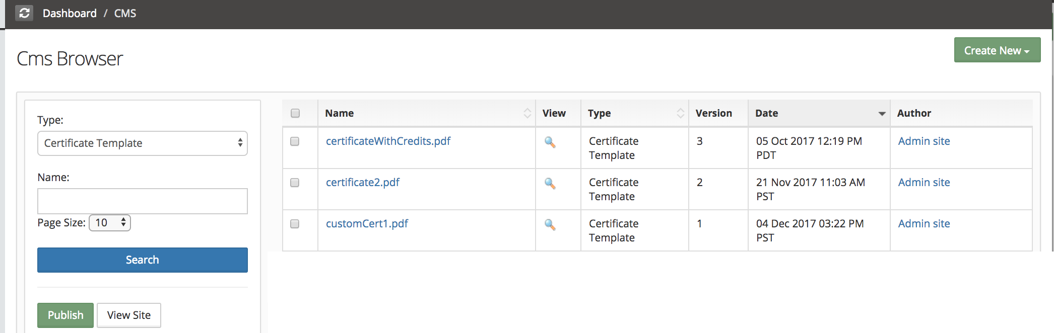 How To Set A Custom Certificate As Default Certificate For The Site - Custom certificate template