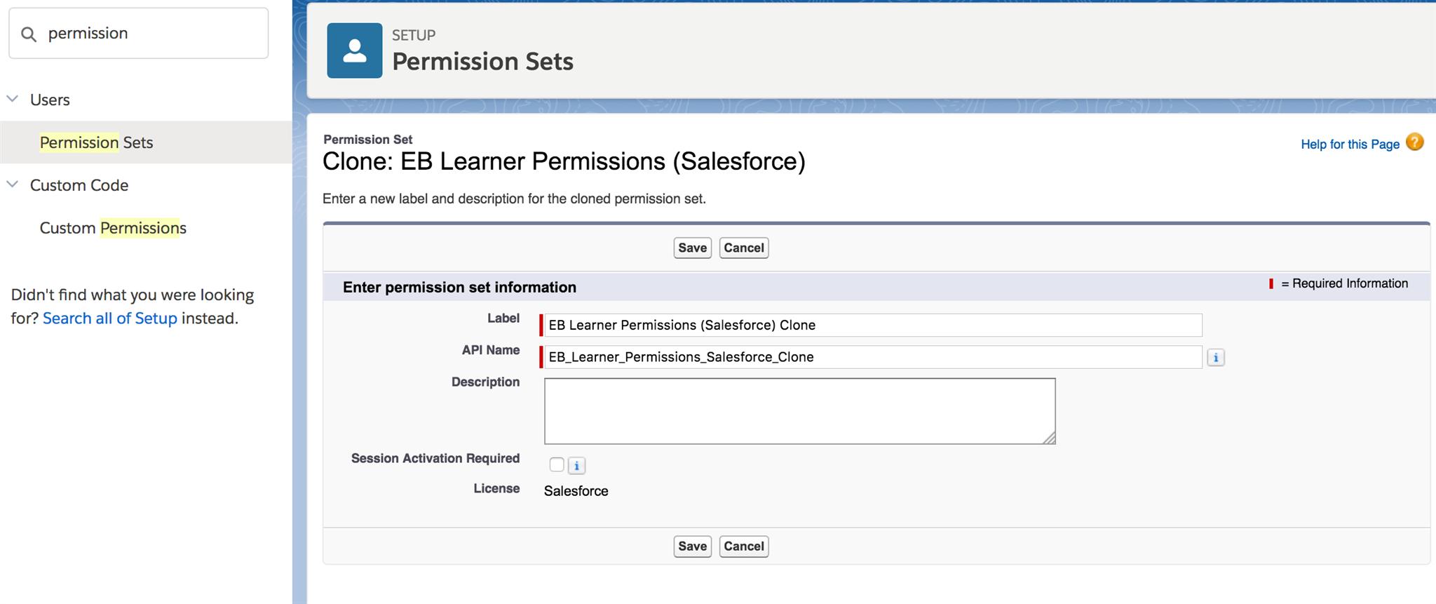 Salesforce - EduBrite App Installation