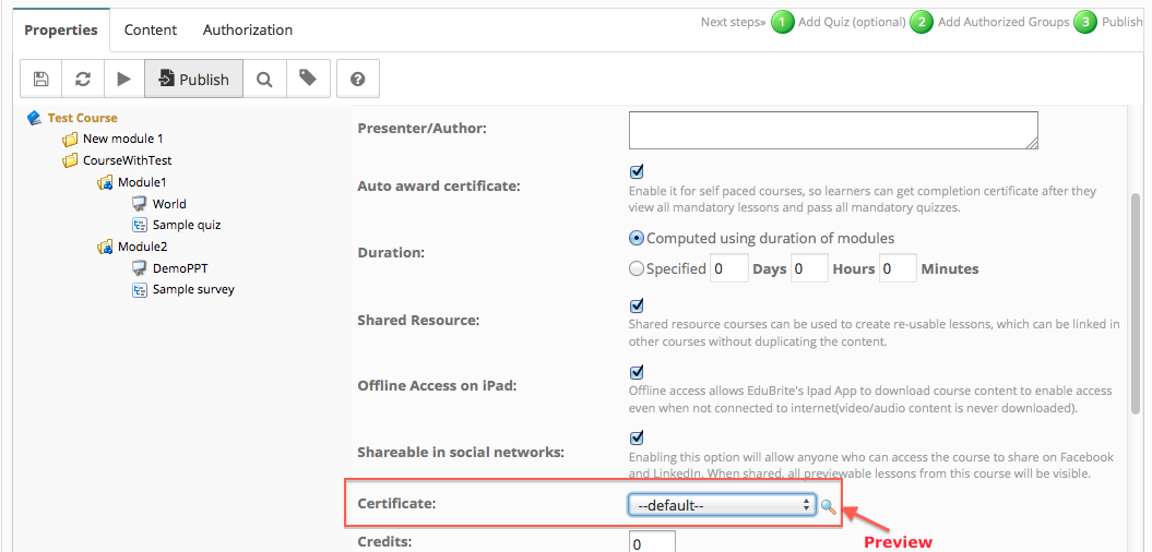 Customize course completion certificate note that certificate drop down will only appear if there are any existing templates in the site yelopaper Image collections